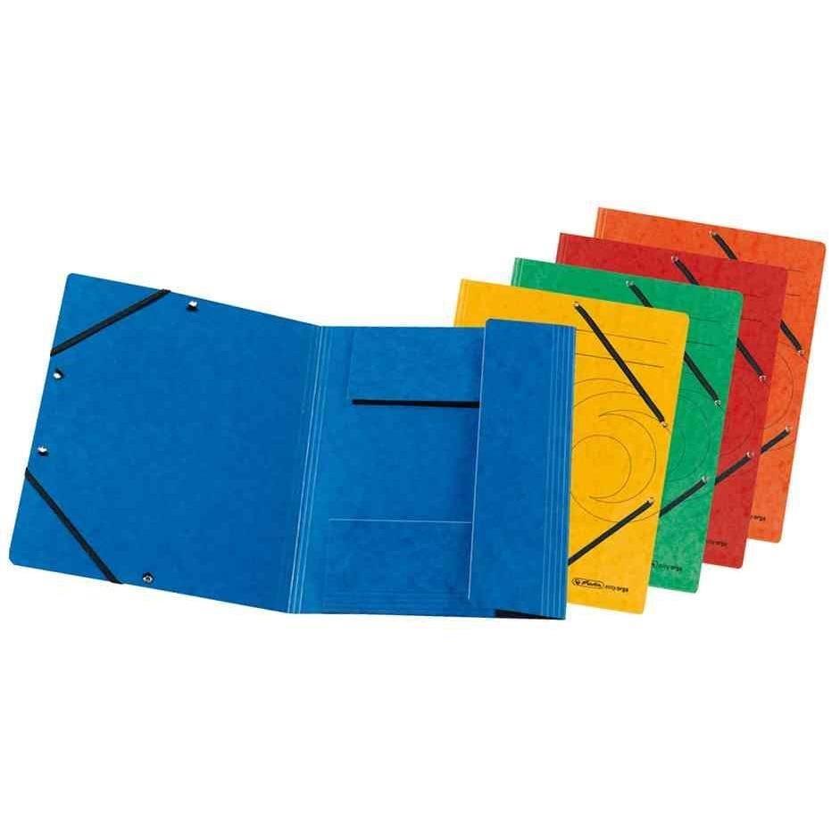 Chemise à élastiques easyorga, format A4, fuchsia