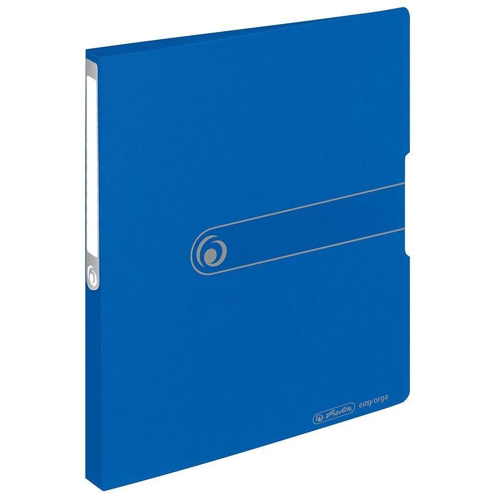Classeur 2 anneaux Easy Orga to go Polypro A4 Dos de 27 mm Bleu