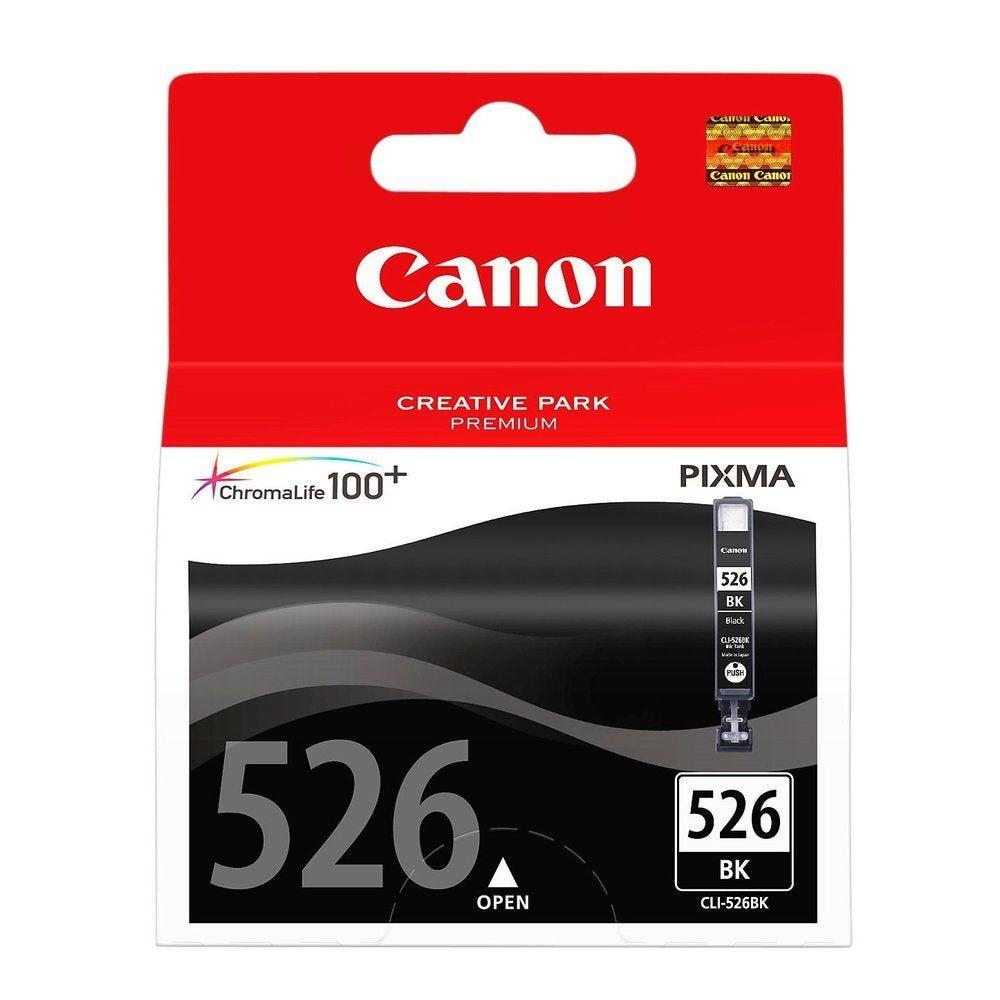Encre originale CLI526BK Pixma IP4850/MG5150, noir