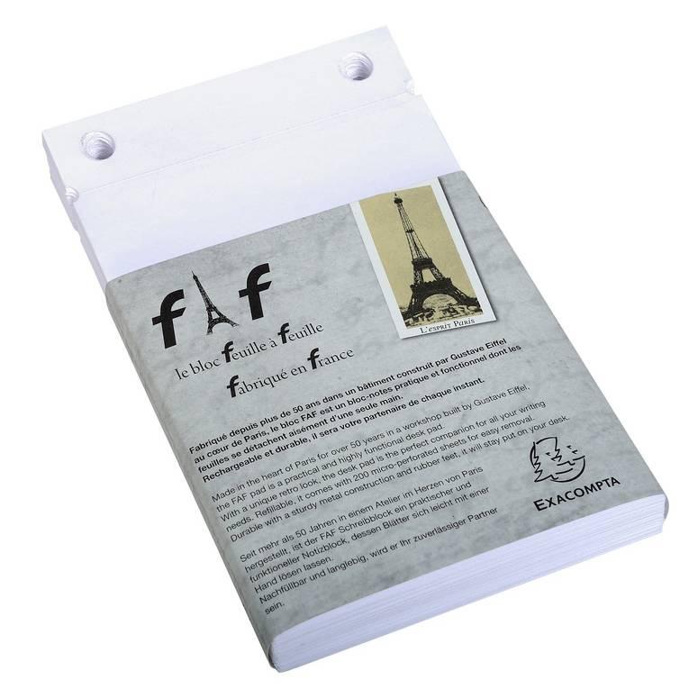 Boîte de 5 recharges FAF 18,5x11,5cm N° 3 uni