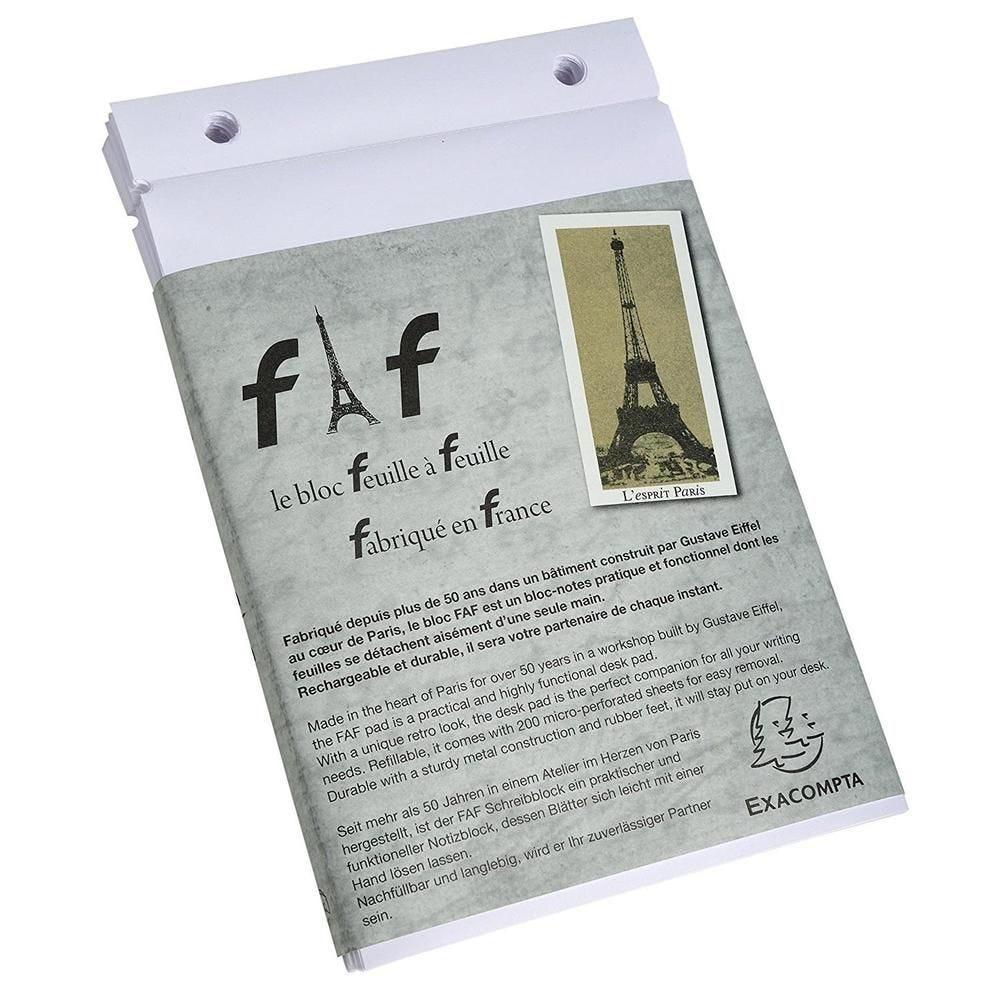 Boîte de 5 recharges FAF 21x13,5cm N° 4 uni