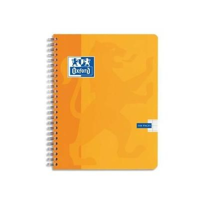 Cahier ESSENTIAL spirale 180 pages 5x5 21x29,7 Couverture carte