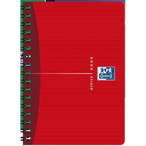 Carnet reliure intégrale 110 x 170 mm 180 pages Quad 5x5 90g Coloris aléatoire