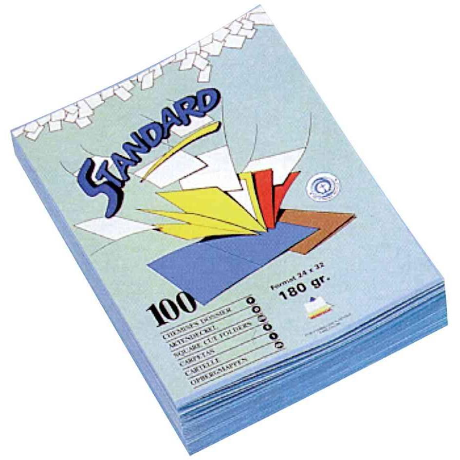 Chemises dossier standard pour format A4, 180 g/m2