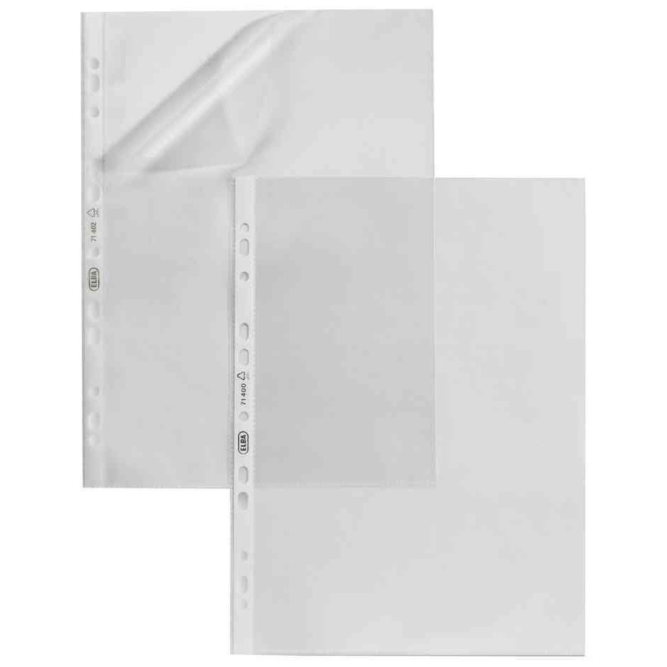 Pochettes perforées 170 x 220 mm 5/100eme - Sachet de 10