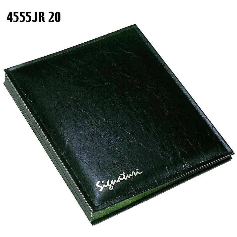 Parapheur 'Clip' JR 20 compartiments Vert Foncé Couverture Noir