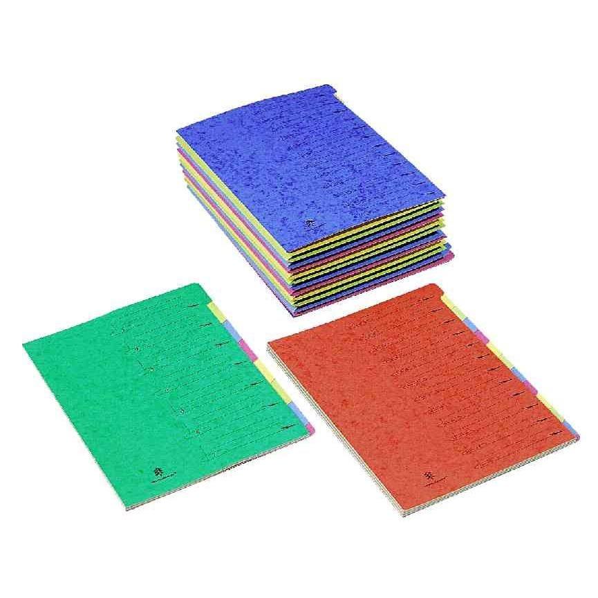 Dossier Tri-Clip Standard, 24 éventails, avec