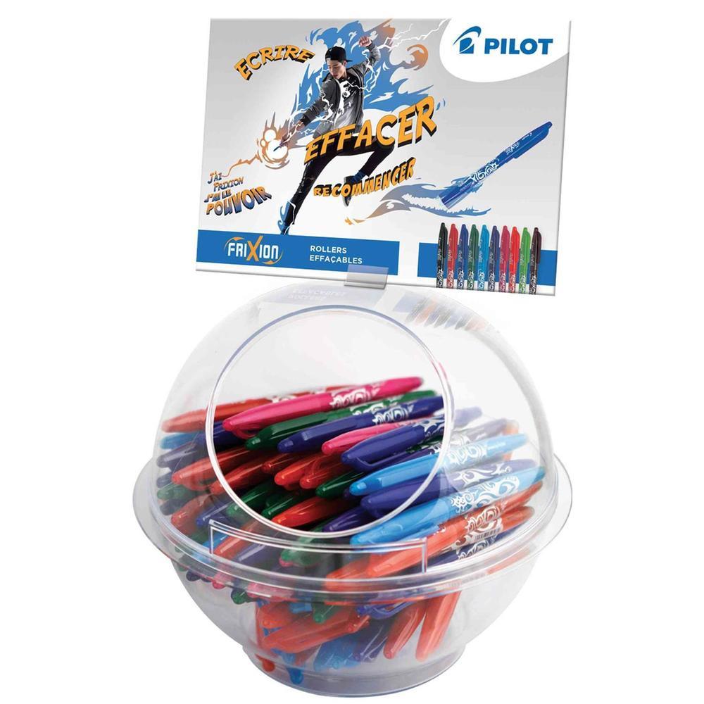 Stylo roller FRIXION BALL, présentoir de 108 pièces