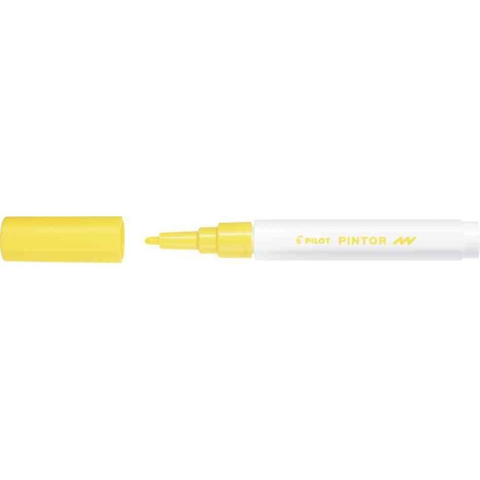 Marqueur à pigment PINTOR, fin, jaune
