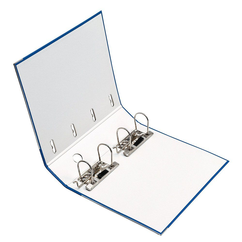 Classeur Double Levier ( 2 x A5 ) maX.file en PP dos 70 mm Noir