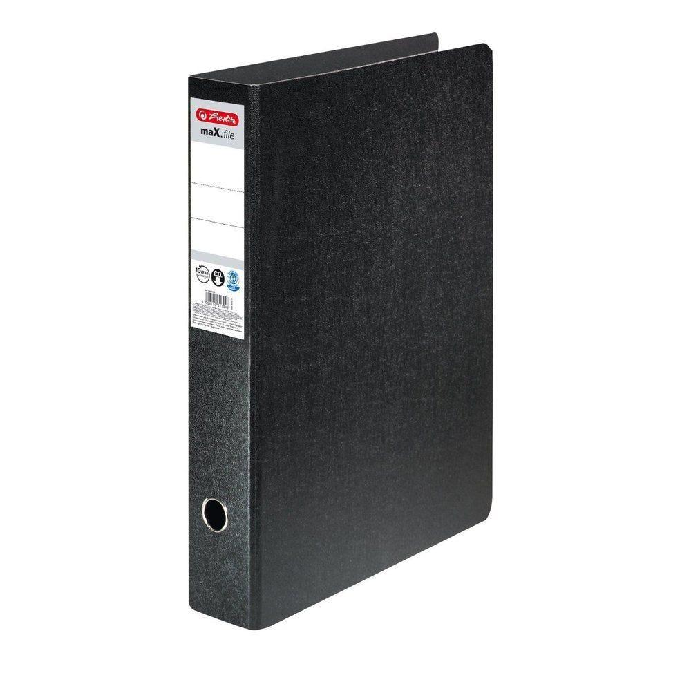 Classeur carton rigimax.file A3 à la Française Dos de 75 mm Noir