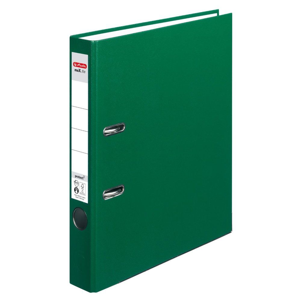 classeur max.file protect, largeur de dos: 50 mm, Vert