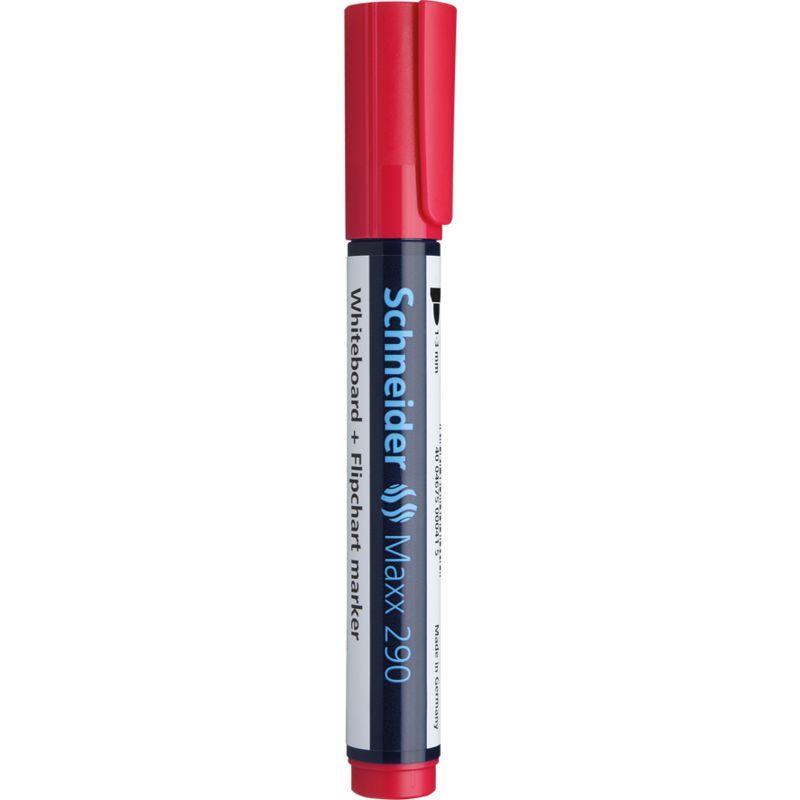 Marqueur tableau blanc Maxx 290 Pte Ogive 2-3 mm Rouge