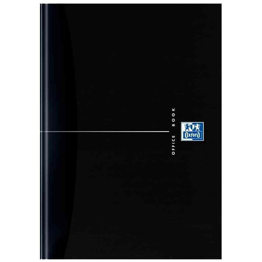 Carnet de notes 'Smart-Black' relié, A5, quadrillé, 96 feuilles