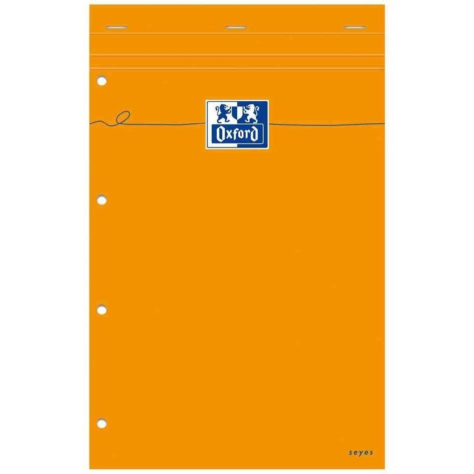 Bloc notes, 210 x 315, quadrillé, 160 pages, orange