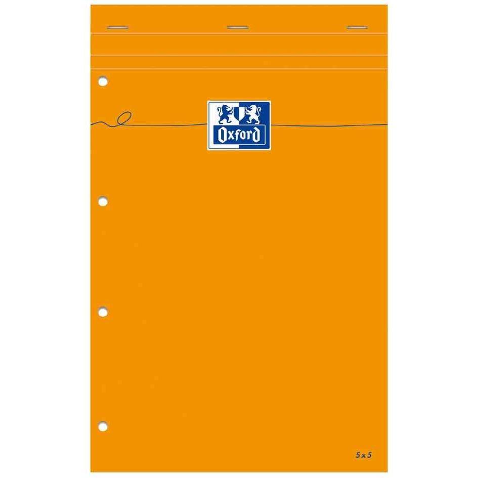 Bloc-notes, 210 x 315, quadrillé avec marge, 160 pages
