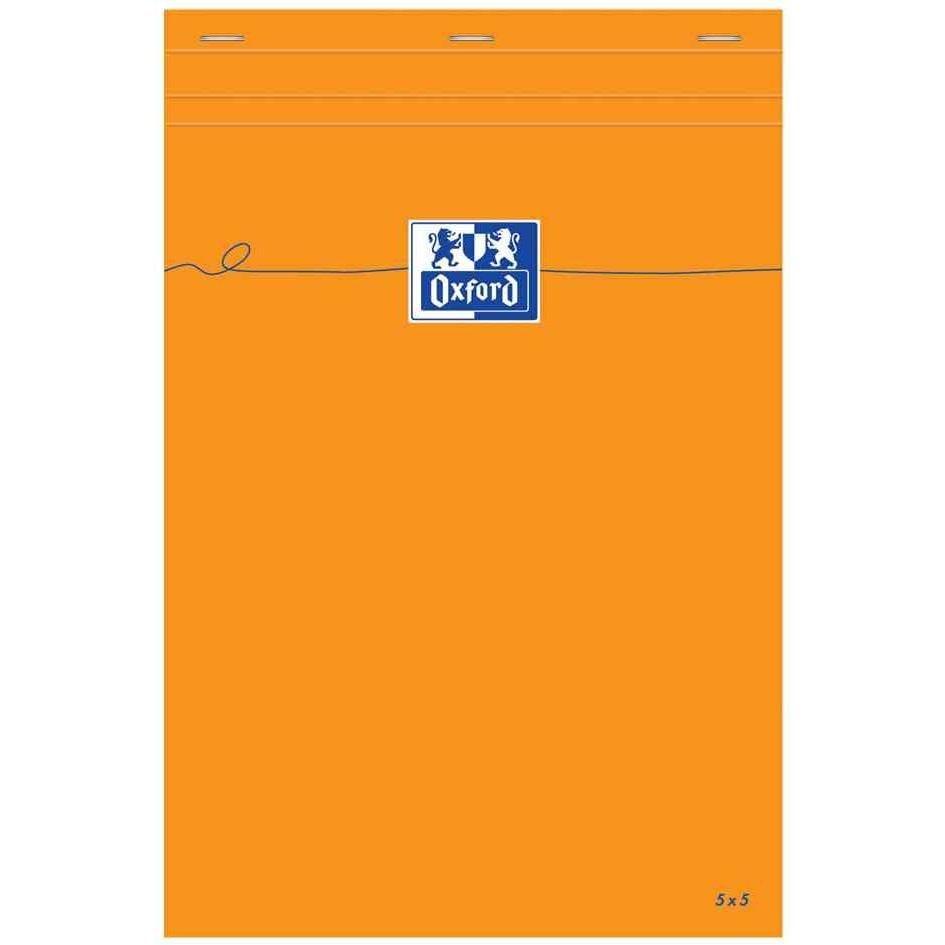 Bloc-notes Orange A4+ 210 x 315 mm 80 Feuilles 80g Unie