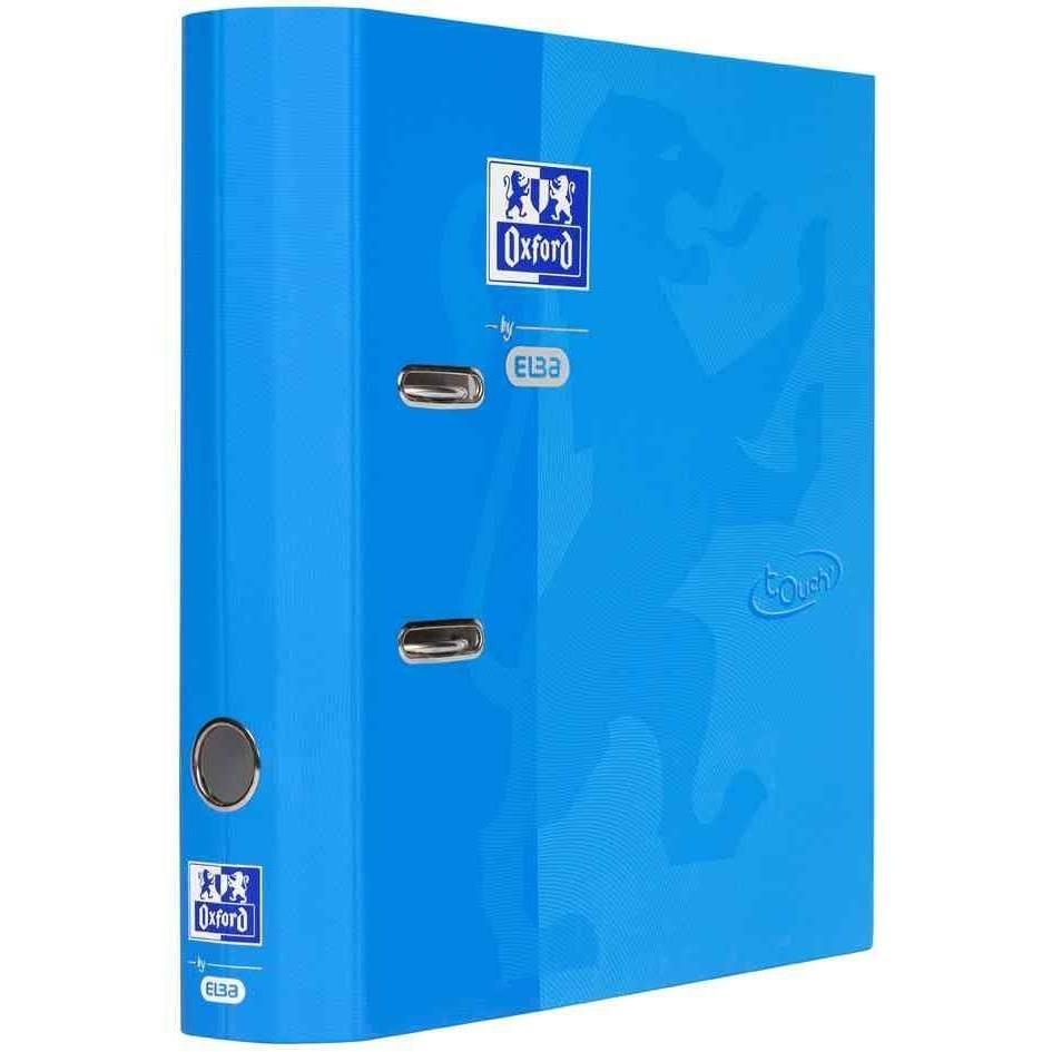 Classeur Touch, A4, largeur dos: 80 mm, bleu