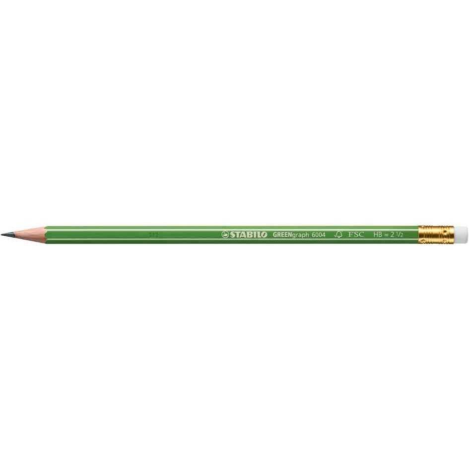 Crayon Graphite GREENGraph 100% FSC bout gomme HB