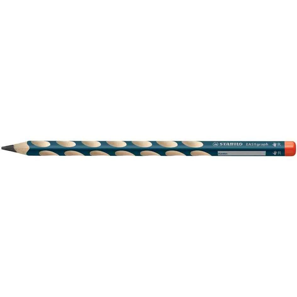 Crayon Ergonomique D'apprentissage EASYgraph Droitier Mine 3,15 mm HB