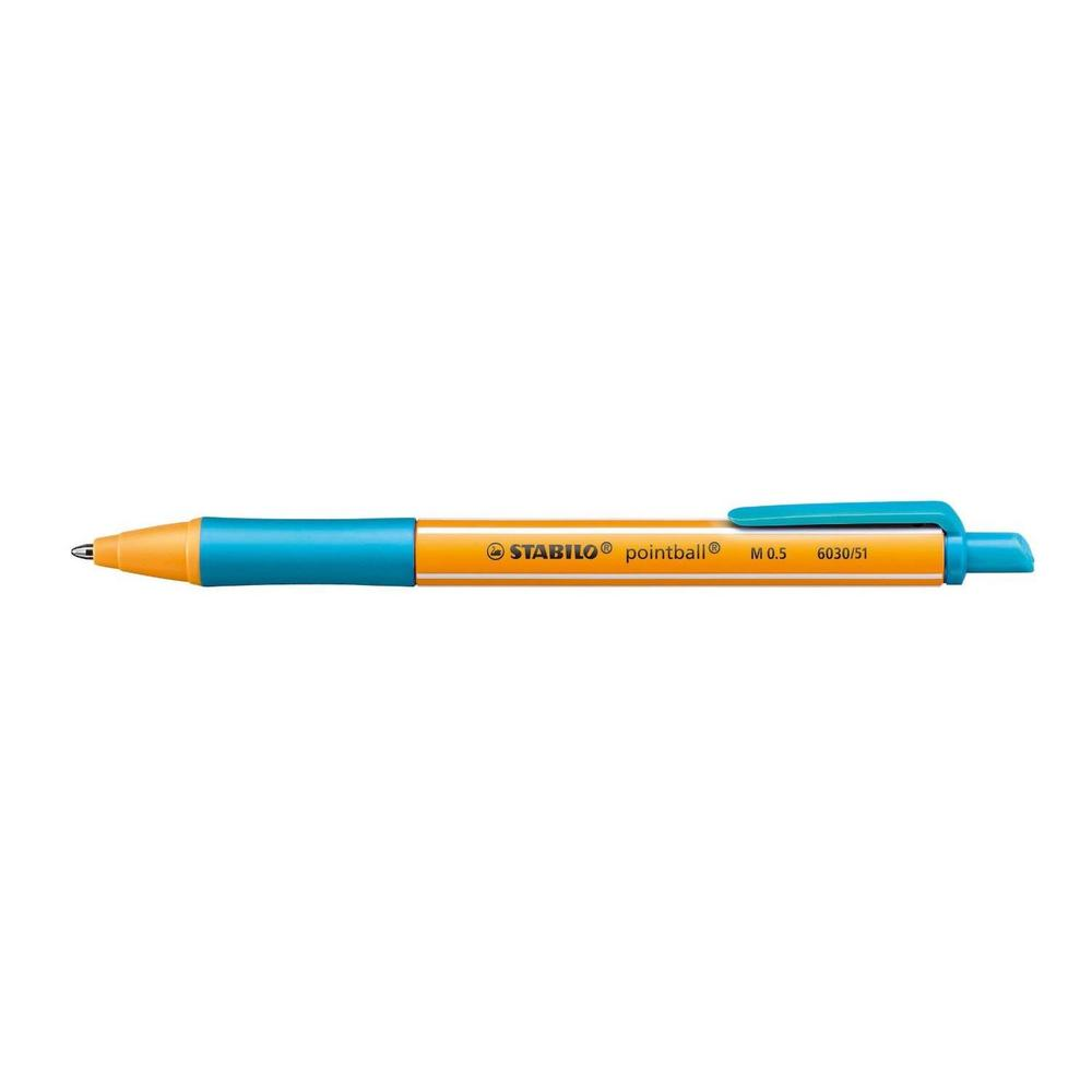 Stylo Bille Rétractable POINTBALL Tracé 0,5 mm Turquoise