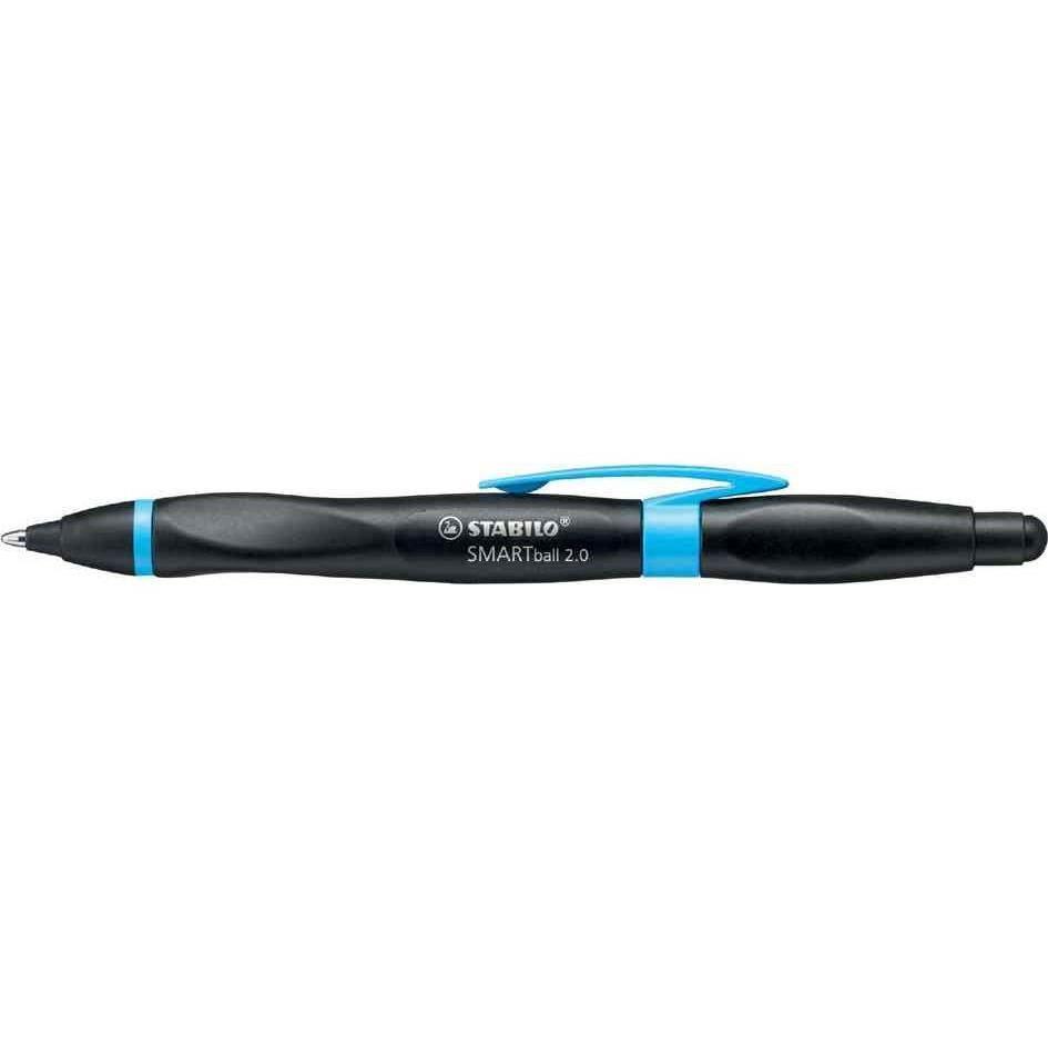 Stylo bille ergonomique Stylet SMARTball 2.0 droitier noir / bleu encre noire
