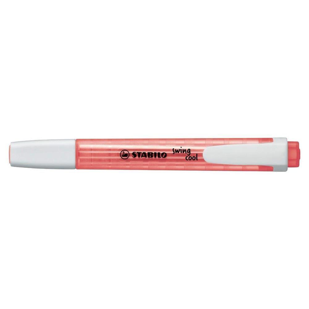 Surligneur de poche SWING COOL Pte Biseautée 1 - 4 mm Rouge