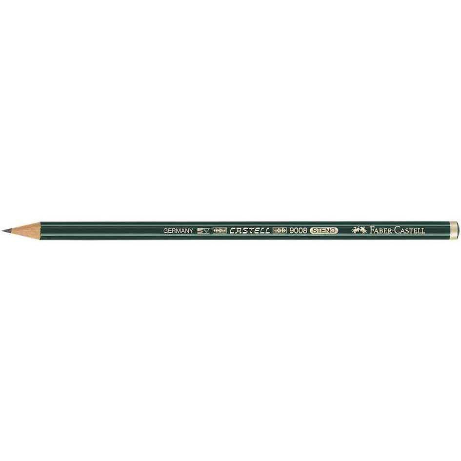 Steno crayon CASTELL 9008, dureté: 2B