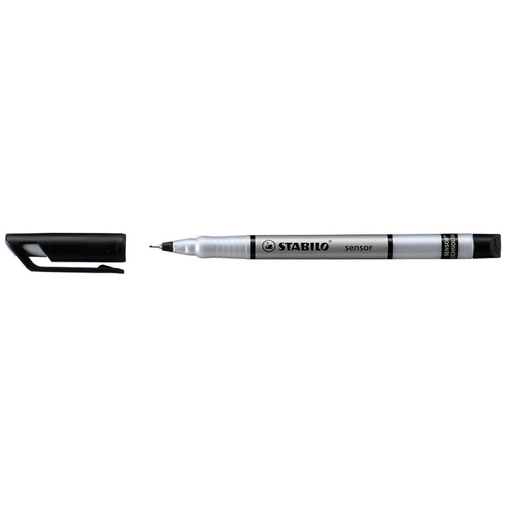 Feutre Fineliner Sensor Pte tracé 0,3 mm Noir