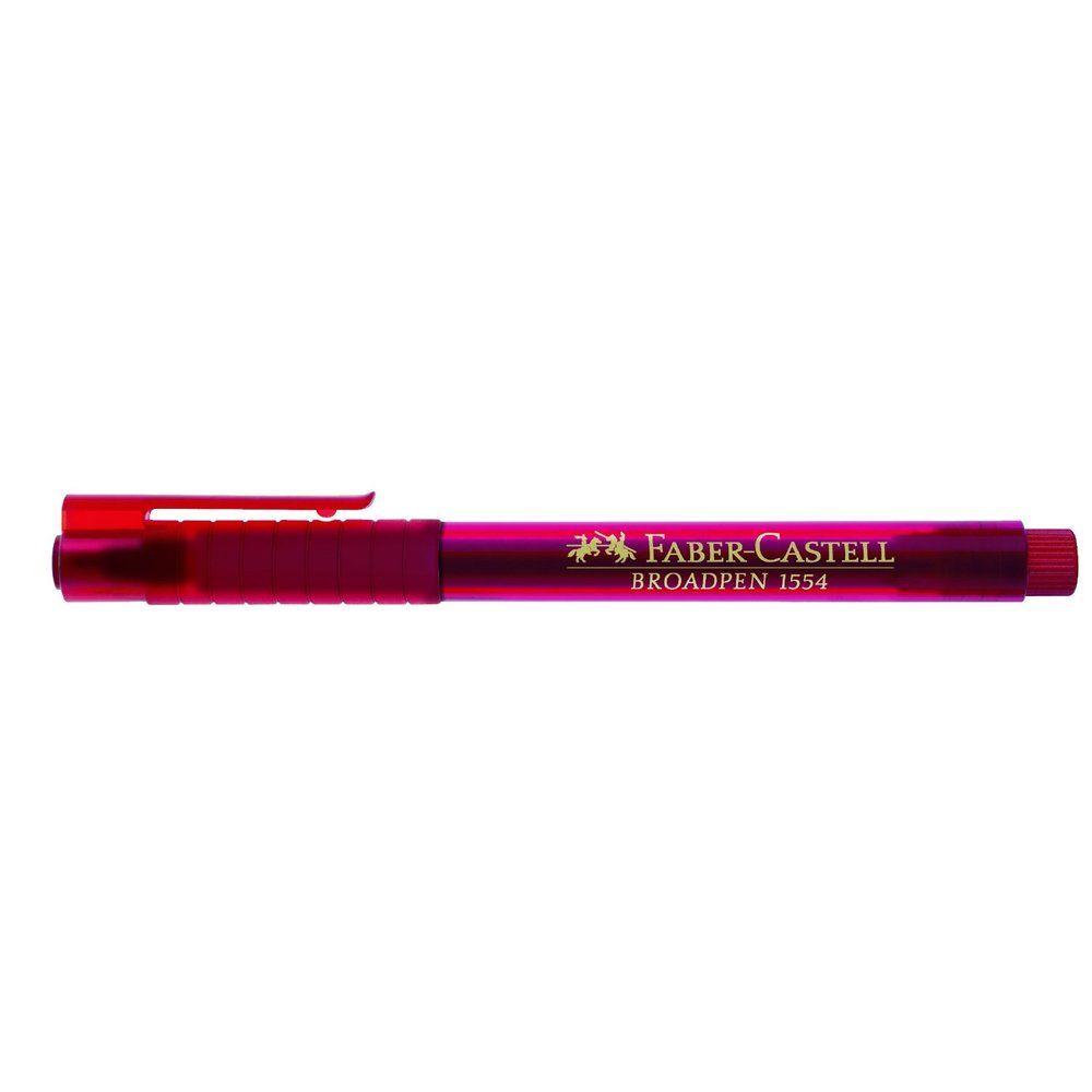 stylo feutre Fineliner BROADPEN 1554, rouge