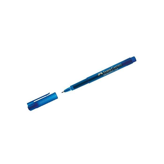 Stylo feutre Fineliner BROADPEN 1554 Tracé 0,8 mm Bleu