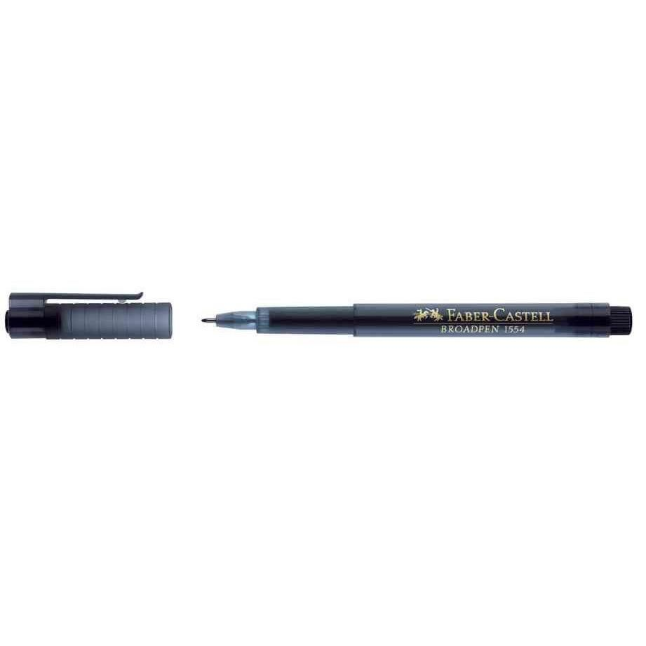 Stylo Feutre Fineliner BROADPEN 1554 Pte 0,8 mm Noir