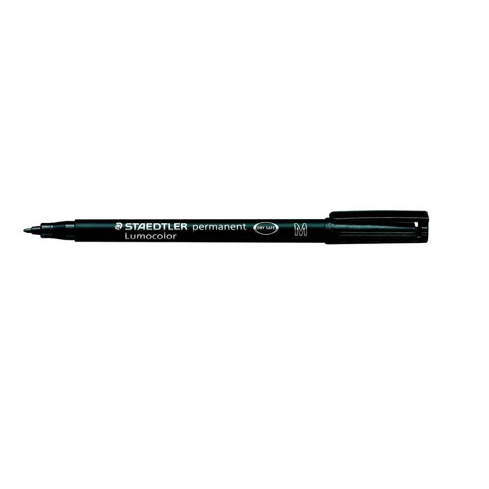 Marqueur permanent 'Lumocolor 317M' Pointe 1 mm Noir