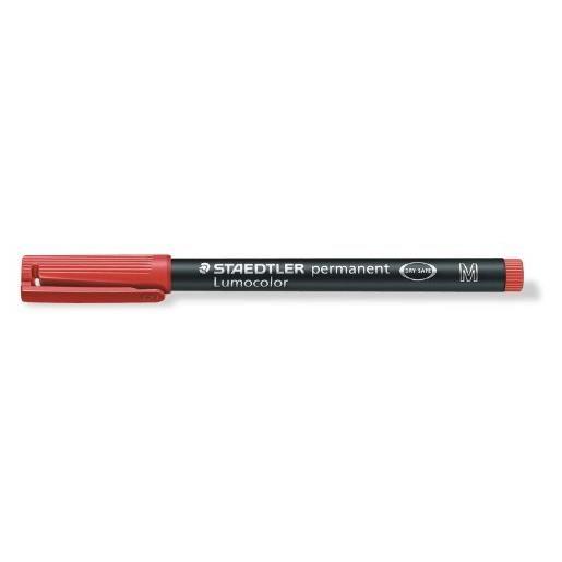 marqueur permanent 'Lumocolor 317M', rouge, Tracé 1mm