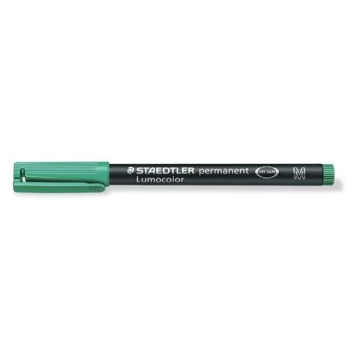 marqueur permanent 'Lumocolor 317M', vert, Tracé 1mm