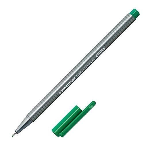 Fineliner triplus, vert, largeur de tracé: 0,3 mm