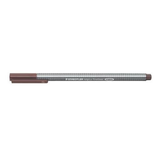 Feutre Fineliner Triplus Tracé 0,3 mm Marron van-Dyke