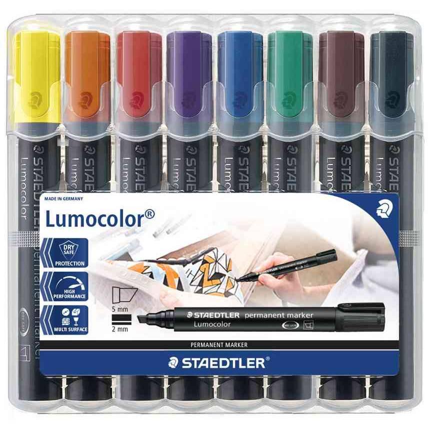 étui de 8 Lumocolor Marqueur permanent 350