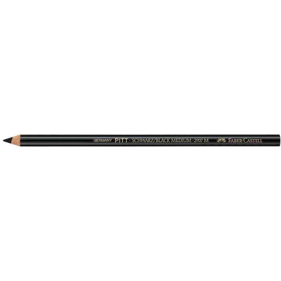 Crayon carbone PITT MONOCHROME Epais Noir