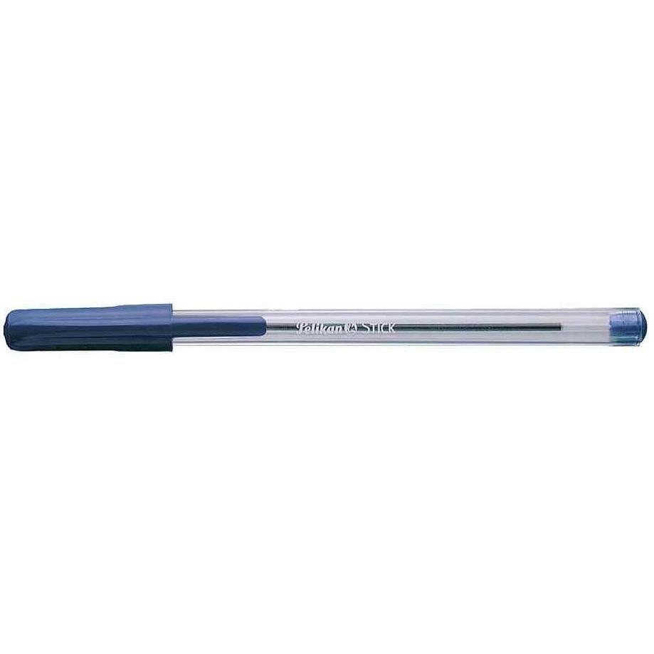 Stylo à bille 'STICK' Pointe Moyenne Bleu