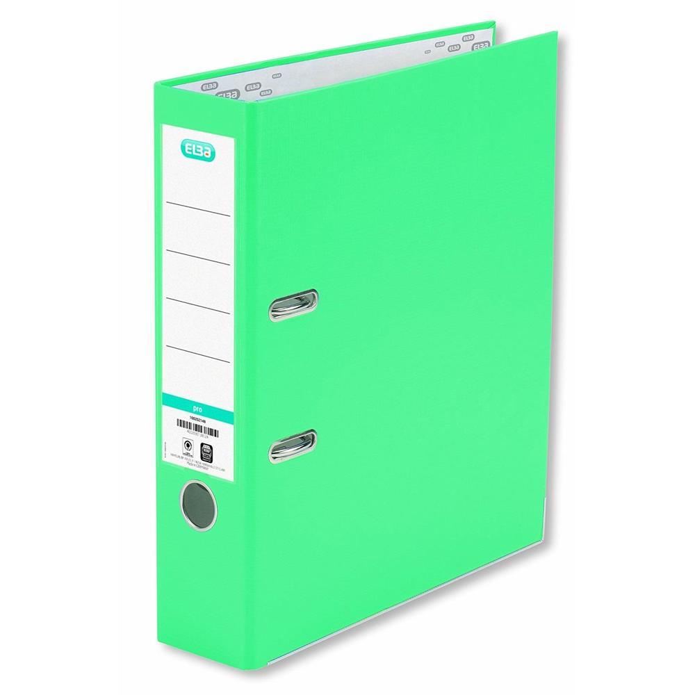 Classeur smart pro, largeur de dos: 80 mm, menthe format A4