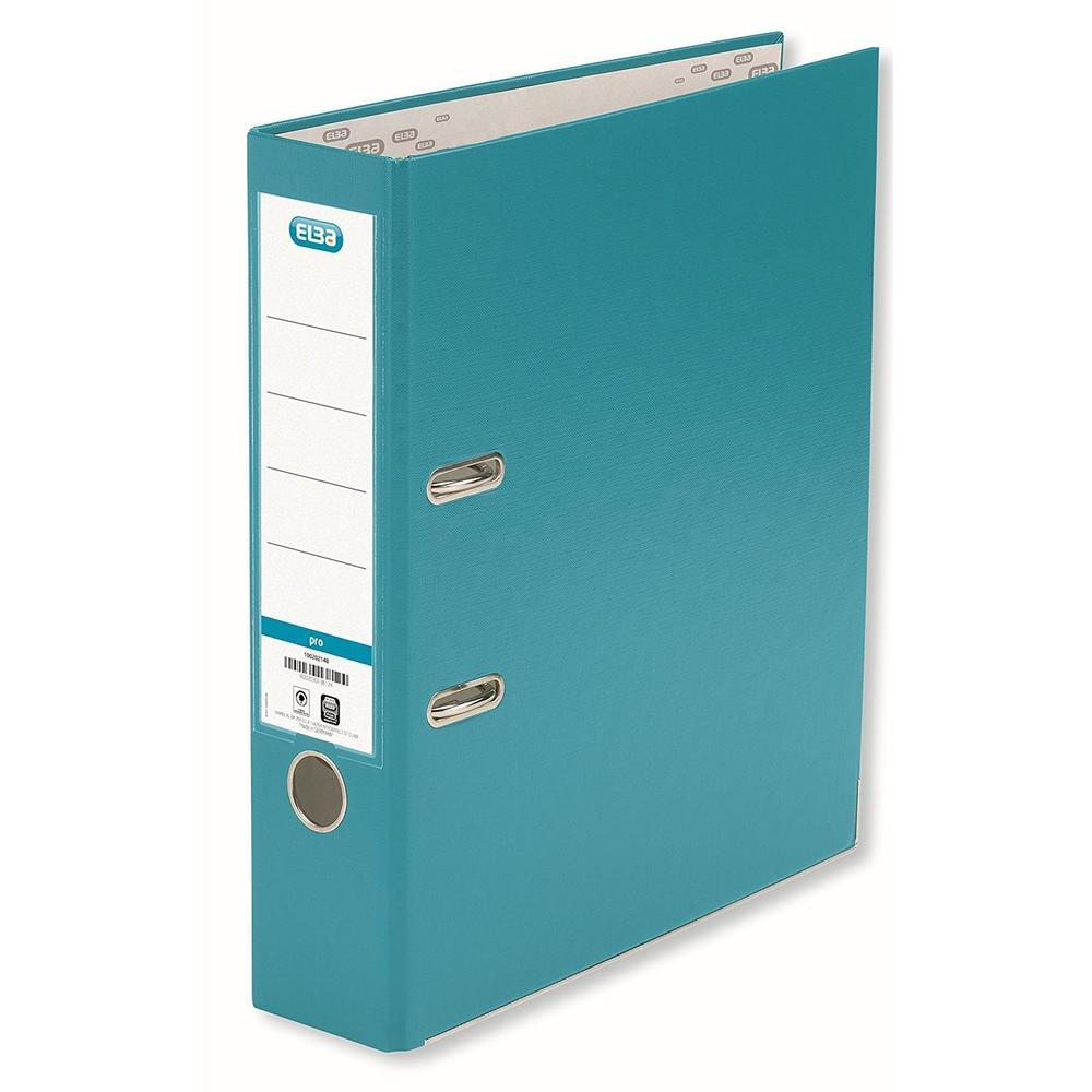 Classeur smart pro, largeur de dos: 80 mm, turquoise format A4