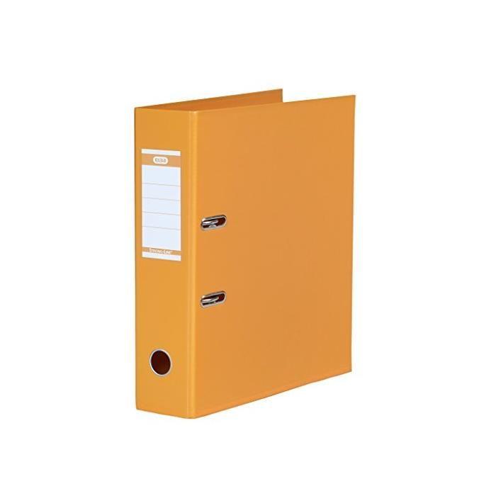 Classeur à levier 'Strong Line' A4 Dos de 80 mm Orange