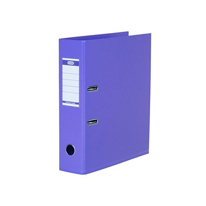Classeur à levier 'Strong Line' A4 Dos de 80 mm Violet