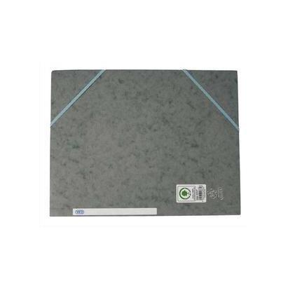 Chemise 3 rabats et élastique Top File 24 x 32 cm Grise