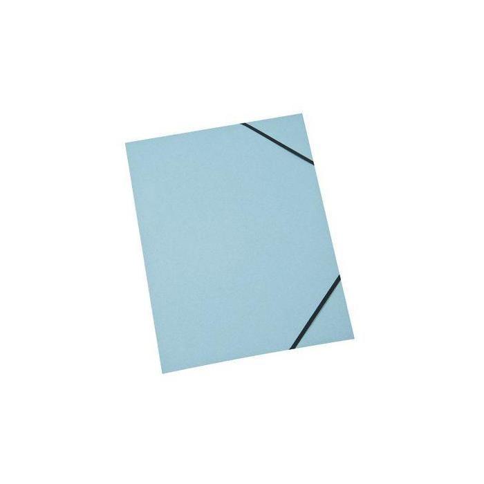 Chemise à élastiques Carte Forte 310g 24x32 cm Assorties 4 couleurs - par lot de