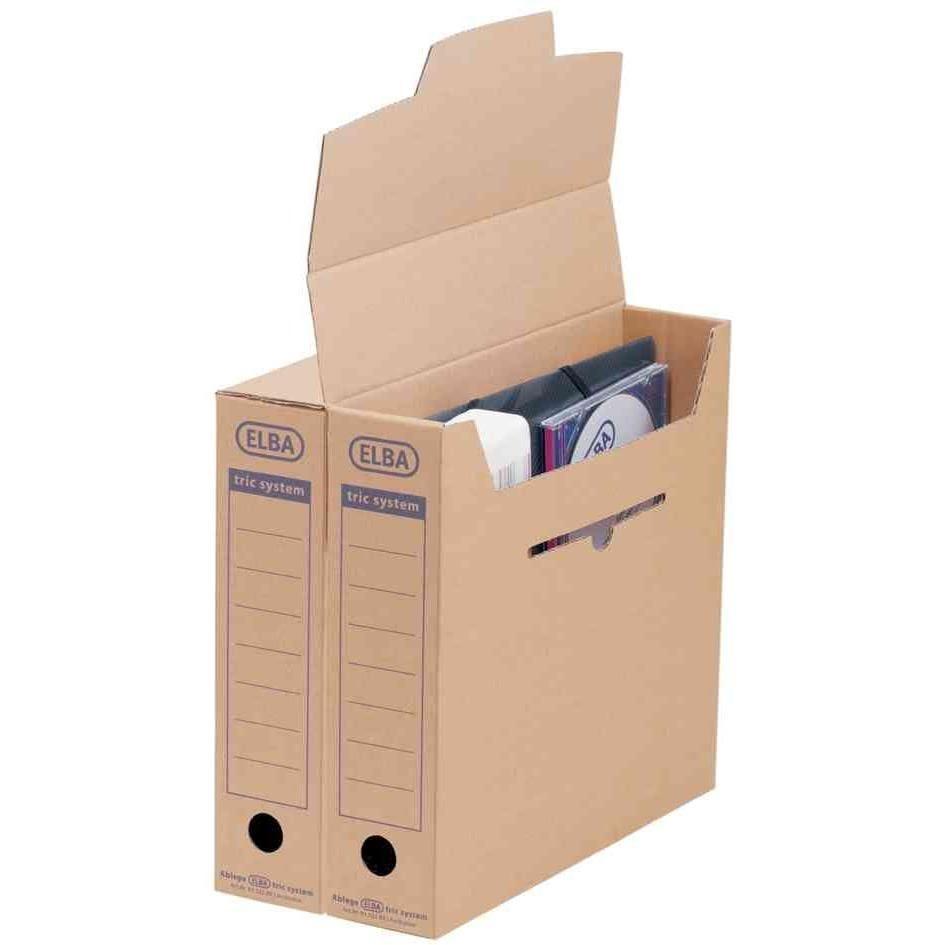 Boîte d'archive tric System (L)76 x (P)339 x (H)314 - par lot de 12