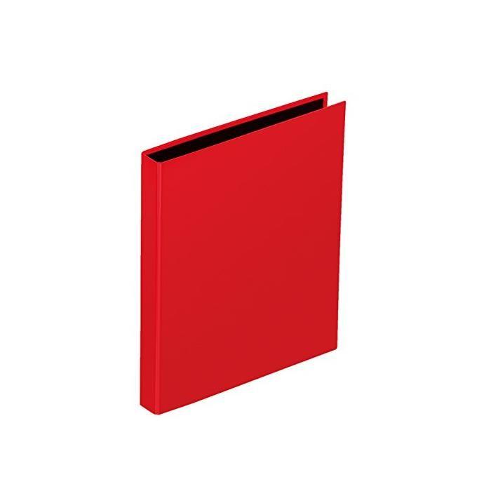 Classeur 2 anneaux 20 mm 'Basic Colours' A5 dos 35 mm Rouge