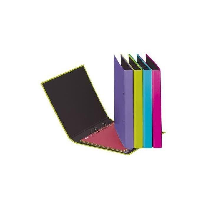 classeur à anneaux 'Trend Colours', mécanisme 2 anneau