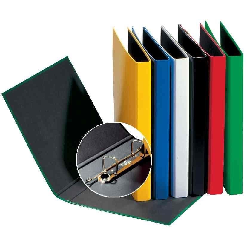 Classeur 2 anneaux 20 mm 'Basic Colours' A4 dos 35mm Noir